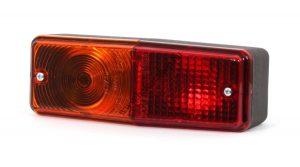 pótkocsi lámpa