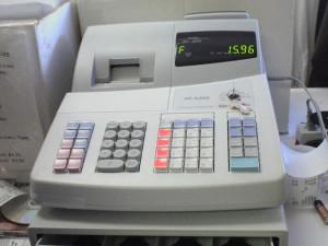 Jó állapotú használt pénztárgépek