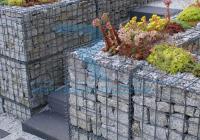 terméskő kerítés